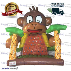 20x13ft Inflatable Monkey Climb Wall With Air Blower