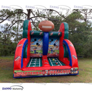13x10ft Inflatable American Football Toss With Air Blower