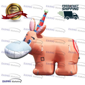 13×4.9ft Inflatable Pin The Tail On The Donkey Game With Air Blower