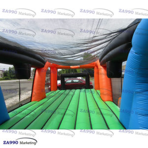 39x20ft Inflatable Sports Games Arena Field With Air Blower