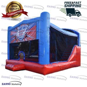 20x20ft Inflatable Ninja Warrior Obstacle Course With Air Blower