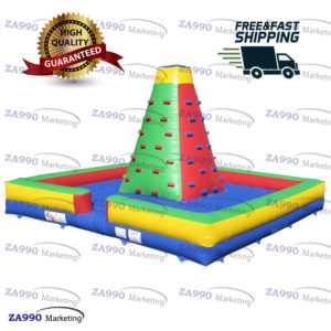 20x20ft Inflatable Climb Tower Bounce With Air Blower