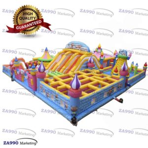 82x65ft Commercial Inflatable Maze & Slide & Bounce House