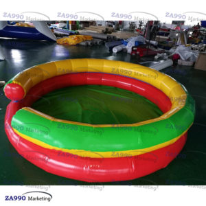 8.2×1.64ft Commercial Inflatable Balls Pool With Air Blower