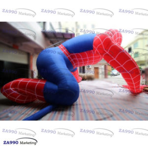 20x16ft Inflatable Spiderman For Advertising With Air Blower