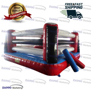 20x20ft Inflatable Jousting Sticks Boxing With Air Blower