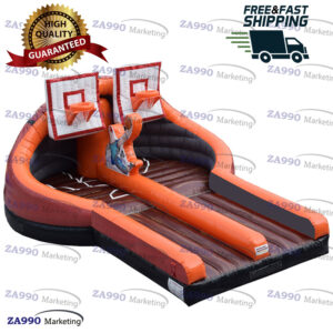 26x20ft Inflatable Slam Jam Basketball Hoop With Air Blower
