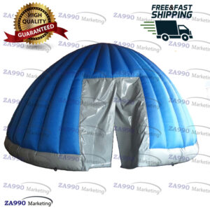 16ft Inflatable Igloo Dome Advertising With Air Blower