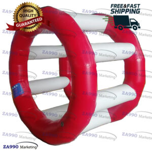 6.6ft Inflatable Running Roller For Swimming Pool With Air Pump