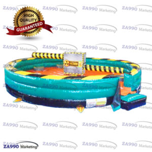 26ft Inflatable Wipeout Meltdown Eliminator Game With Air Blower