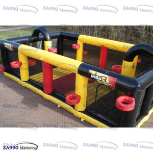 42x29ft Inflatable Korfbal Arena Field Bounce With Air Blower