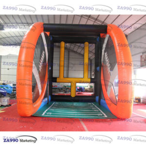20x23ft Inflatable Football Field Goal Challeng Game With Air Blower