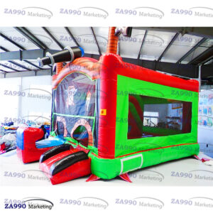20x13ft Inflatable Pirates Bounce House & Slide With Air Blower