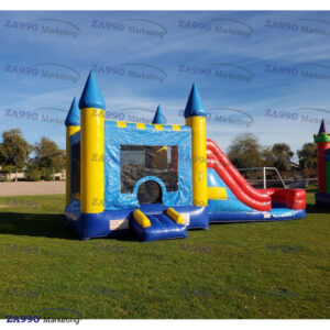 26x13ft Inflatable Bounce House & Slide With Air Blower