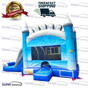 21x13ft Commercial Inflatable Ice Bounce House & Slide With Air Blower