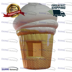 13ft Inflatable Ice Cream Concession Stand Tent With Air Blower