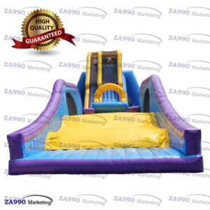 115x39ft Inflatable Dropkick Water Slide With 4 Air Blowers