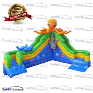 26x20ft Inflatable Octopus Water Slide With Air Blower