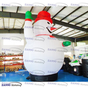 20ft Inflatable Snowman Christmas Holiday With Air Blower