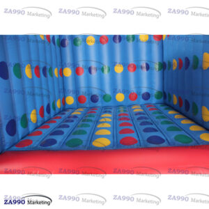 13x13ft Inflatable 3D Twister Funny Family With Air Blower