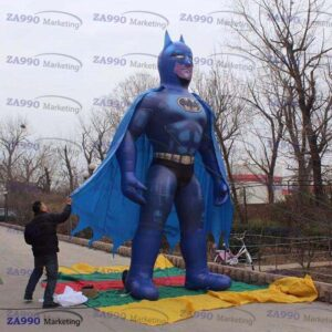 13ft Inflatable Batman Cartoon Promotion With Air Blower