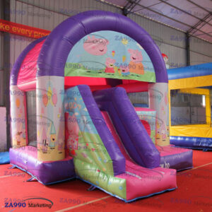 16x13ft Inflatable Peppa Pig Combo Bounce House & Slide With Air Blower
