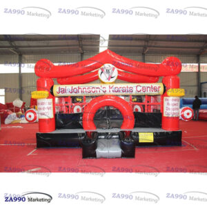 15x13ft Inflatable Karate Center Bounce House With Air Blower