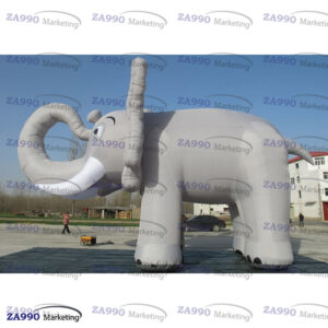 20ft Inflatable Promotional Elephant Promotion With Air Blower