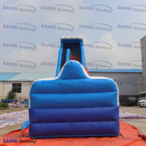 92x26ft Inflatable Water Slip and Slide With 3 Air Blowers