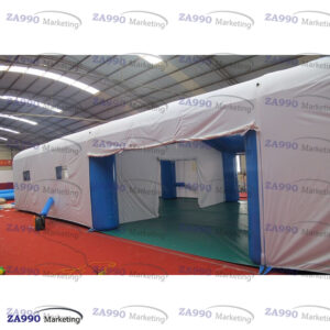 69x23ft Inflatable Medical Emergency Tent With 2 Air Blowers