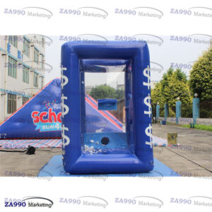 6.6ft Inflatable Cash Cube Money Machine With 2 Air Blower