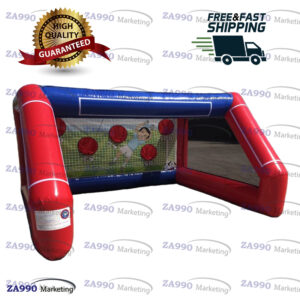 10x13ft Inflatable Football Soccer Toss With Air Blower