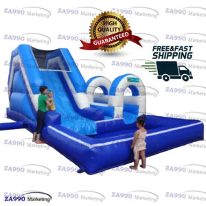 23x13ft Inflatable Water Slide With Air Blower