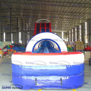 85x26ft Commercial Inflatable Water Slide With Air Blower