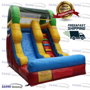 15x9ft Inflatable Bounce Slide Dry With Air Blower