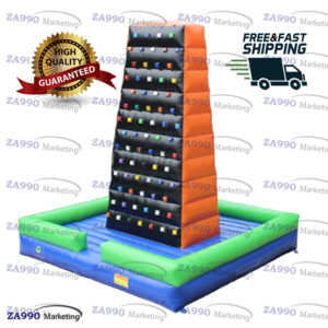 20x20ft Inflatable Mountain Climbing Wall With Air Blower