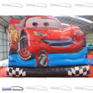 13x13ft Inflatable Cars Bounce House With Air Blower