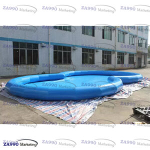26x13ft Inflatable Pool For Walking Ball With Air Pump