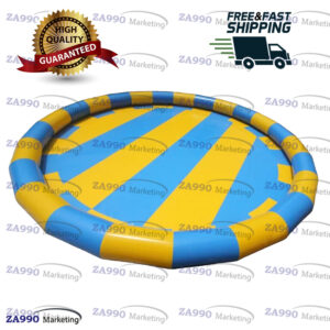 49×3.3ft Inflatable Pool For Walking Ball With Air Pump