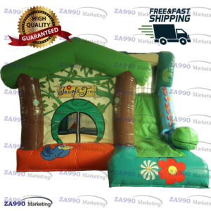 16x10ft Inflatable Bounce House & Slide With Air Blower