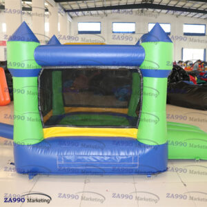 8.2×6.6ft Inflatable Bounce House With Roof With Air Blower