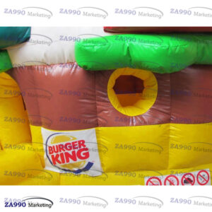 16x13ft Inflatable Hamburger Bounce House With Air Blower