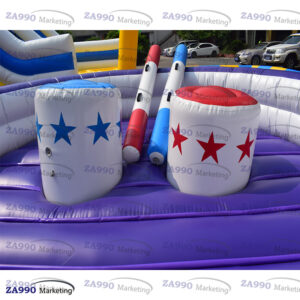 13ft Inflatable Jousting Sticks Sport Game With Air Blower
